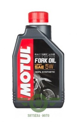MOTUL FORK OIL FACTORY LINE 5W 1L LIGHT