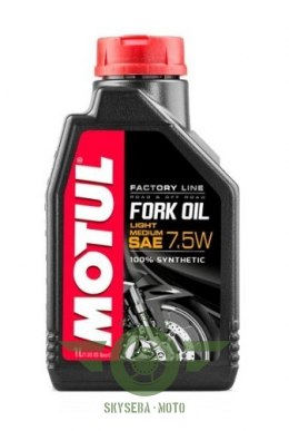 MOTUL FORK OIL FACTORY LINE 7,5W 1L LIGHT-MEDIUM