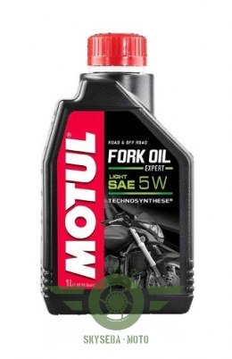 "MOTUL FORK OIL LIGHT ""EXPERT"" 5W 1L."