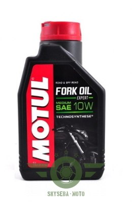 "MOTUL FORK OIL MEDIUM ""EXPERT"" 10W 1L."