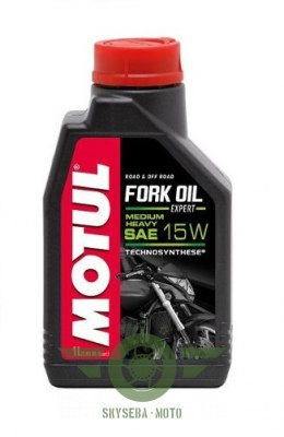 "MOTUL FORK OIL MEDIUM/HEAVY ""EXPERT"" 15W 1L."
