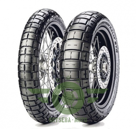 PIRELLI KOMPLET OPON (2803400) 90/90-21 SCORPION RALLY STR (54V) TL 2020 + (2865200) 150/70R17 SCORPION RALLY STR (69V) TL 2020