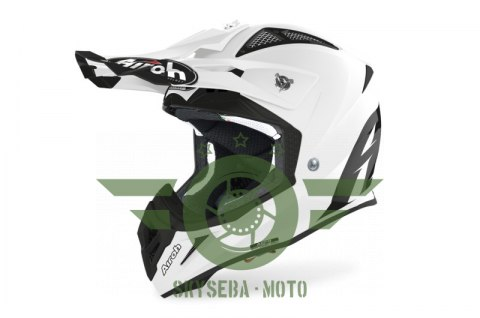 KASK AIROH AVIATOR ACE COLOR WHITE GLOSS 'L'
