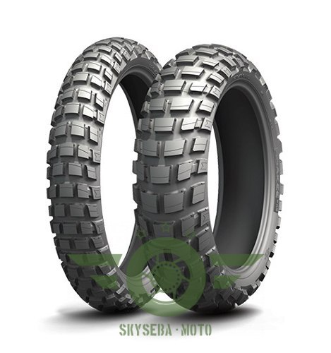 MICHELIN KOMPLET OPON (CAI585707) 90/90-21 ANAKEE WILD (54R) TL 2020 + (CAI722565) 140/80-17 ANAKEE WILD (69R) TL 2020